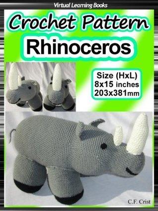 Crochet Pattern: Rhino