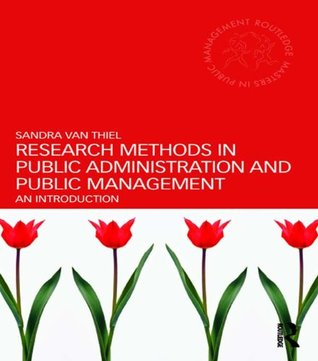 Research Methods in Public Administration and Public Management: An Introduction