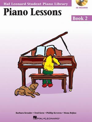 Piano Lessons Book 2 - Book/Enhanced CD Pack: Hal Leonard Student Piano Library
