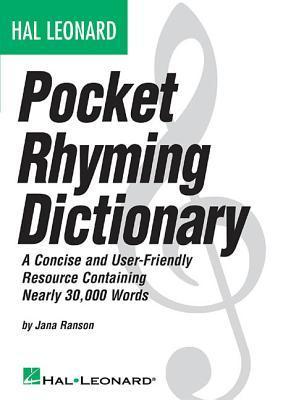Hal Leonard Pocket Rhyming Dictionary