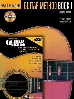 Hal Leonard Guitar Method Book 1, with DVD