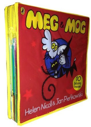Meg and Mog Collection 10 Children Books Gift Set In Zip Lock Bag
