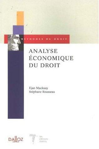 Analyse économique du droit Descargar el libro electrónico para móviles