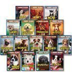The Puppy Place Set, Books 1-16: Goldie, Snowball, Shadow, Rascal, Buddy, Flash, Scout, Patches, Noodle, Pugsley, Princess, Maggie and Max, Cody, Honey, Bear, and Lucky (16-Book Set)