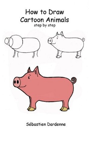 How to Draw Cartoon Animals step by step