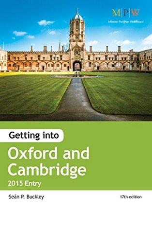 Getting into Oxford & Cambridge 2015 Entry