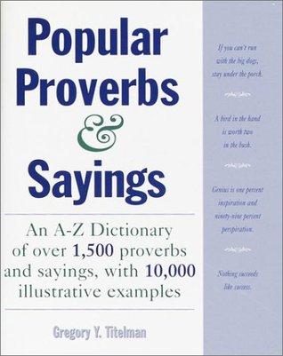 Popular Proverbs & Sayings
