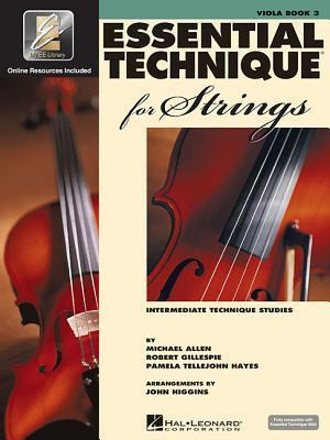 Essential Technique 2000 for Strings: Viola, Book 3