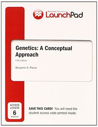 LaunchPad for Pierce's Genetics: A Conceptual Approach (6 month access)