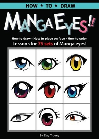 How to Draw, Color and Place Magna Eyes on the Face- 75 Easy STEP by STEP Instructions