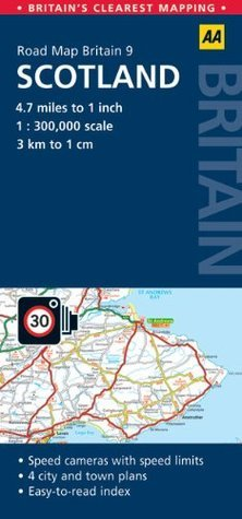 AA Road Map Britain: Scotland (Aa Road Map Britain Series)