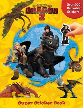 DreamWorks How to Train Your Dragon 2 Super Sticker Book