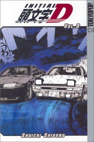 Initial D, Volume 3 by Shuichi Shigeno