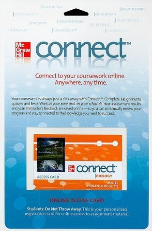 Connect Access Card Human Biology (McGraw Hill Connect