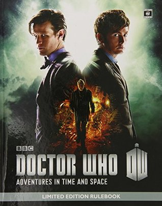 Doctor Who Adventures in Time and Space Limited Edition Rulebook