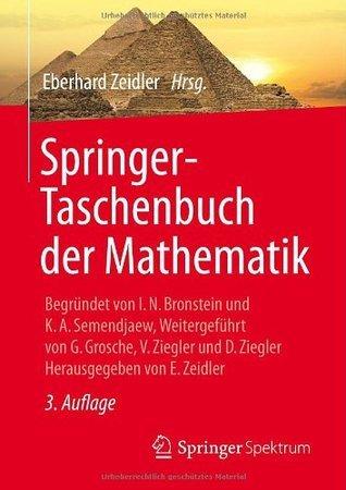 Springer-Taschenbuch Der Mathematik: III