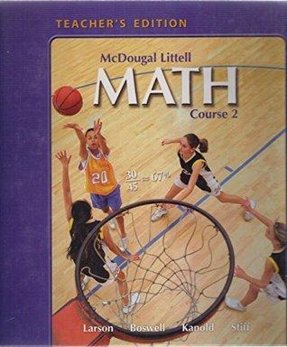 McDougal Littell Math Course 2: Teacher's Edition