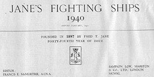 Jane's Fighting Ships 1940