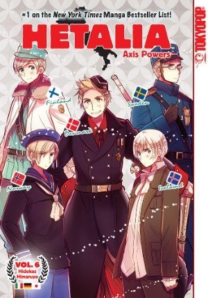 Hetalia Axis Powers Graphic Novel 6