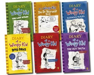 Diary of a Wimpy Kid Collection 6 Books Set RRP: £ 45.94 (The Ugly Truth, Dog Days, Do-It-Yourself Book, Diary of A Wimpy Kid, Rodrick Rules, The Last Straw (Wimpy Kid)