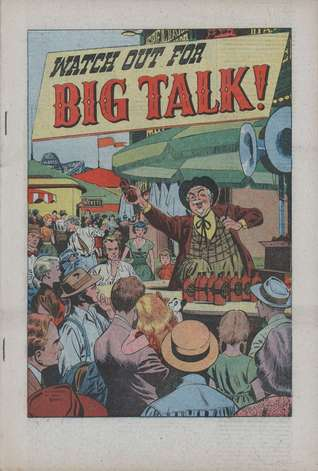 Watch Out for Big Talk! (Political Comic Book)