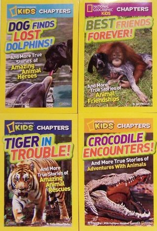 National Geographic Kids Chapter Books - 4 Book Set