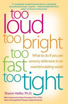Too Loud, Too Bright, Too Fast, Too Tight by Sharon Heller