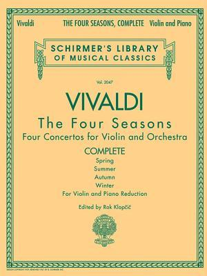 Antonio Vivaldi - The Four Seasons, Complete: For Violin and Piano Reduction