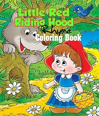 Little Red Riding Hood Rhyme Coloring Book