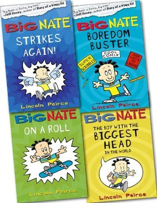 Big Nate Collection 4 Books Set Pack