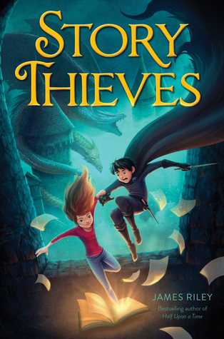 Story Thieves by James Riley thumbnail