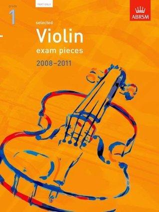 Selected Violin Exam Pieces 2008-2011, Grade 1 Part