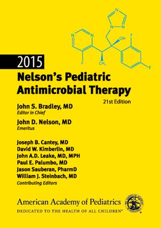 2015 Nelson's Pediatric Antimicrobial Therapy 978-1581109184 PDF iBook EPUB