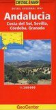 Andalucia/Costa Del Sol (GeoCenter Detail Map)