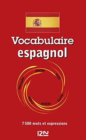 Vocabulaire espagnol (Littrature t. 13216)