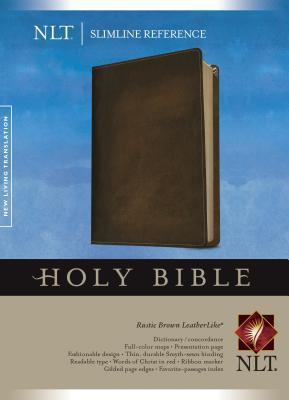 Slimline Reference Bible-NLT por Anonymous
