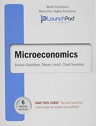 LaunchPad for Goolsbee's Microeconomics (6 month access)