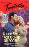 For Richer or Poorer by JoAnn Ross
