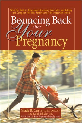 Bouncing back after your pregnancy: what you need to know about recovering from labor and delivery and caring for your new family by Glade B. Curtis