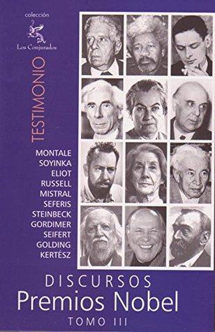 Discursos Premios Nobel: Tomo 3