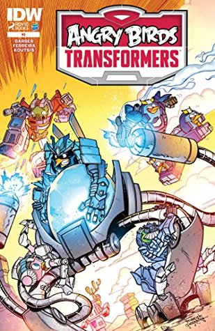 Angry Birds/Transformers #3 (of 4) (Angry Birds/Transformers Graphic Novel)