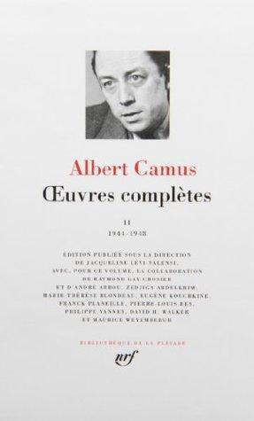 Oeuvres Completes 2 (1944-1946)-Bibliotheque de la Pleiade