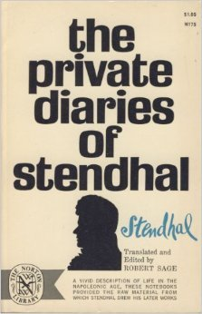 The Private Diaries of Stendhal