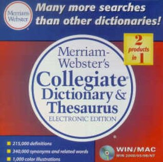 Merriam-Webster's Collegiate Dictionary & Thesaurus, Electronic Edition
