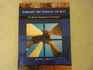 Gardner's Art Through the Ages, The Western Perspective V1 for HA201