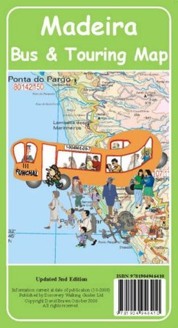 Madeira Bus and Touring Map 2009