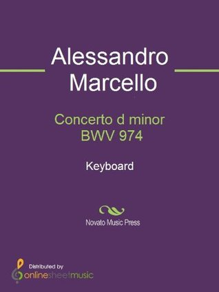 Concerto d minor BWV 974 - Keyboard