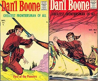 Dan'l Boone. Issues 1 and 2. First of the Pioneers. Greatest frontiersman of all. Golden Age Digital Comics Wild West Western.