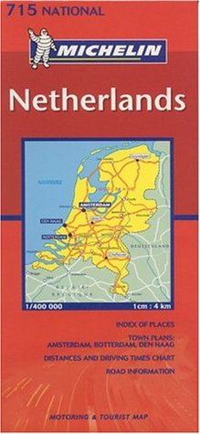 Michelin Netherlands: Motorist And Touring Guide (Michelin Maps)