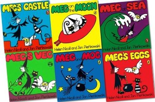 Meg and Mog 6 books Collection RRP: £29.94 - Meg's Eggs, Meg's Castle, Meg at Sea, Meg on the Moon, Meg and Mog, Meg's Veg [Paperback]